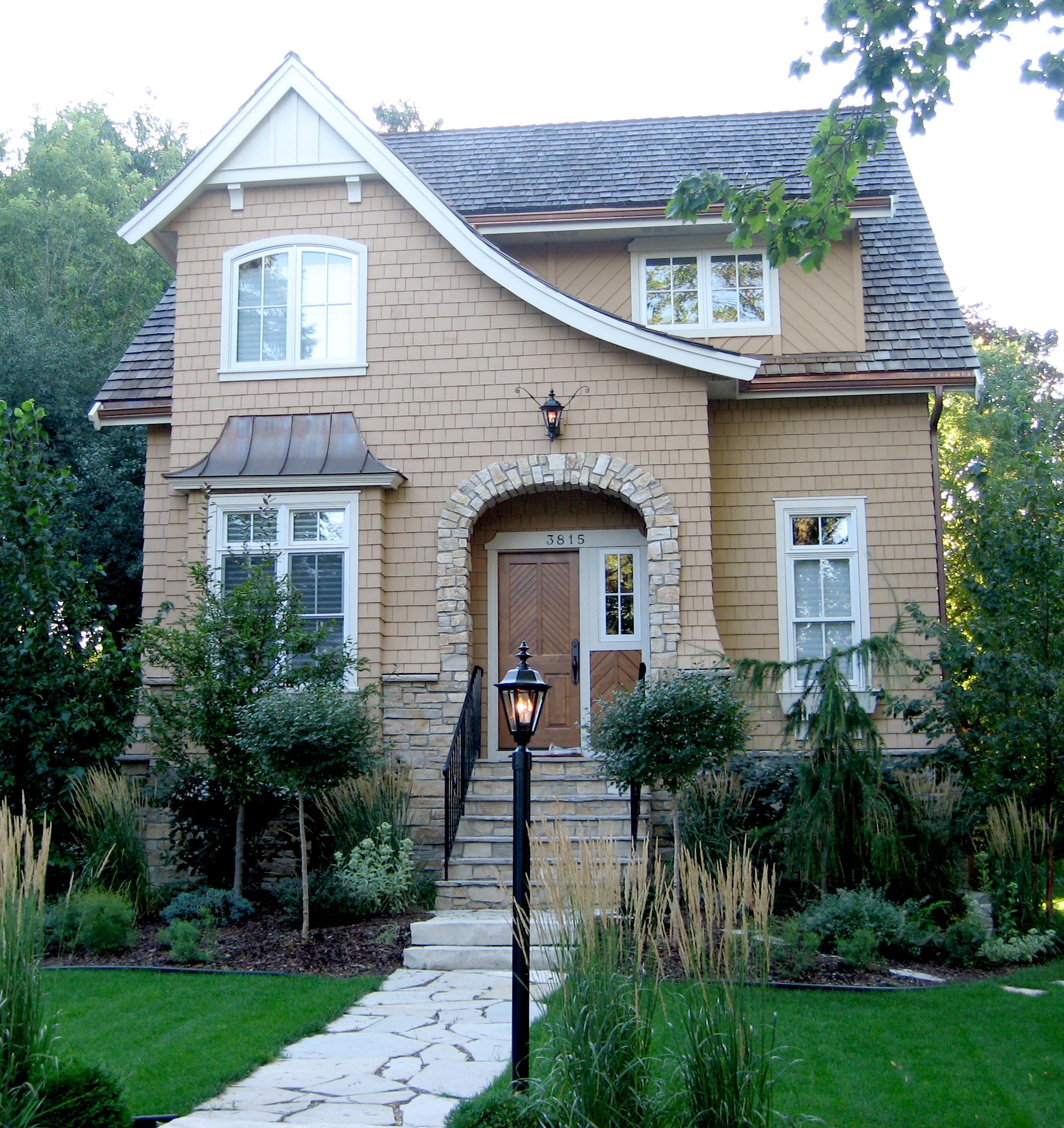 Modern Tudor Style Lake Harriet Carrigan Curtis Design Build